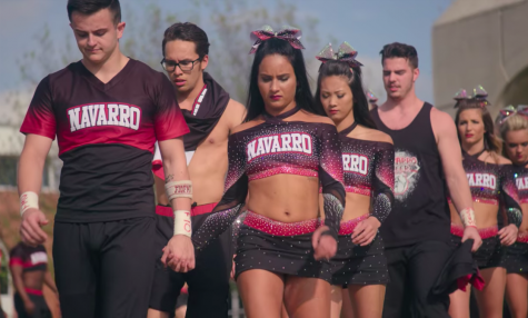 "The docuseries, ""Cheer,"" dives into the lives of competitive cheerleaders at Navarro College in Corsicana, Texas. The show was released on Jan. 8, 2020."