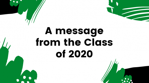 A message from The Class of 2020