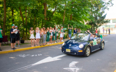 "Graduates celebrate the culmination of their high school careers by attending a car parade held on held on Tuesday, June 16. District Superintendent Erik Gundersen said that the in-person graduation ceremony for the Class of 2020 will still be held on July 8 despite concerns from seniors and parents who argue that the date interferes with ""Beach Week,"" a student-organized event in which graduates spend the week at the beach."