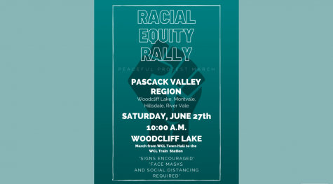 A peaceful rally and march will be held in Woodcliff Lake this Saturday from 10:00 a.m. to 12:30 p.m. The event was organized by the District Equity Team with the help of a group of alumni.