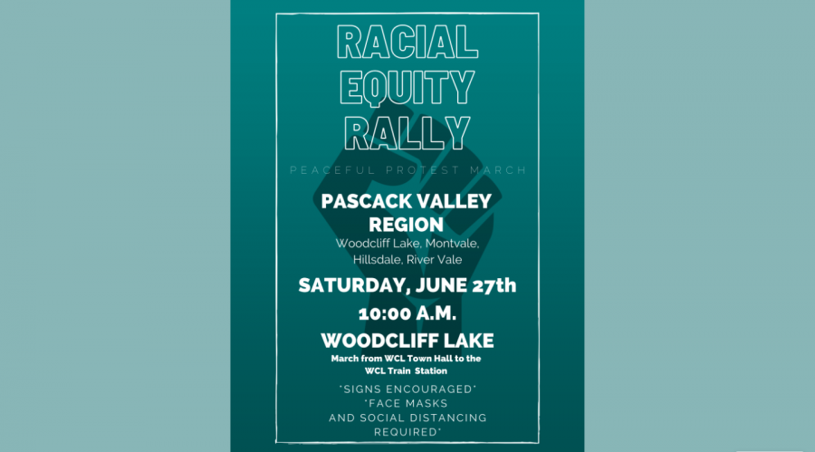 A+peaceful+rally+and+march+will+be+held+in+Woodcliff+Lake+this+Saturday+from+10%3A00+a.m.+to+12%3A30+p.m.+The+event+was+organized+by+the+District+Equity+Team+with+the+help+of+a+group+of+alumni.