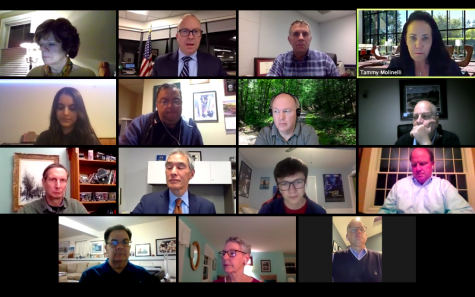 The Board of Education addressed many topics at the Board of Education's virtual meeting Monday night held on Zoom. These topics include the concerns of Pascack Valley