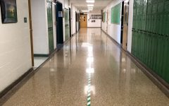 The district has welcomed back all students from grade 10 through 12 in Cohort A on Sept. 3 and Cohort B on Sept. 4, while an orientation day for freshman was held on Sept. 2. With students returning, the district has taken several safety measures to promote social distancing including the placement of green and white tape down the center of every hallway.