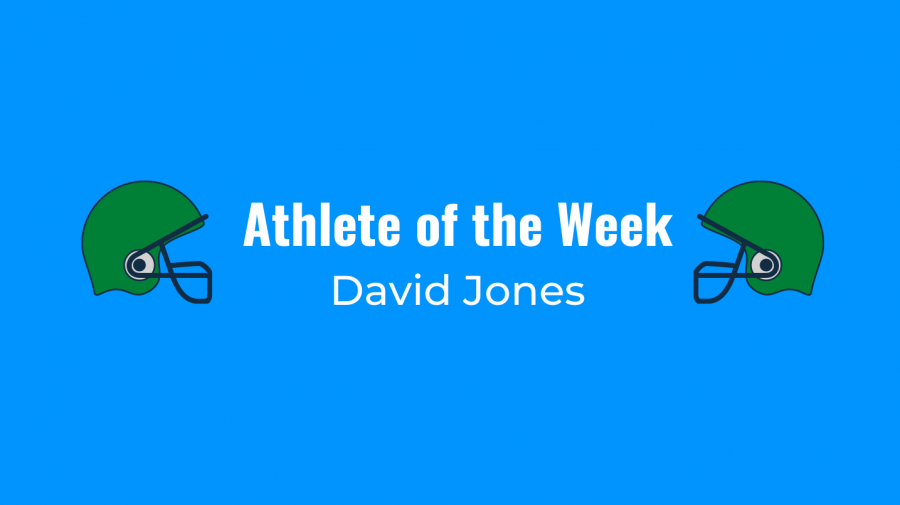 After coming up big on both sides of the ball in PV football's win over Bergenfield, David Jones is the Athlete of the Week.