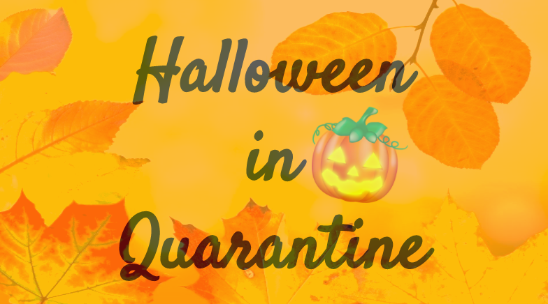 Halloween baking in quarantine
