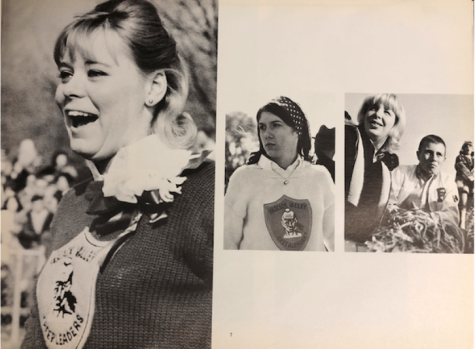 "Pascack Valley students in the 1966 yearbook, ""The Warrior."" The Indian mascot was chosen in 1954 by a committee of PV students and faculty."