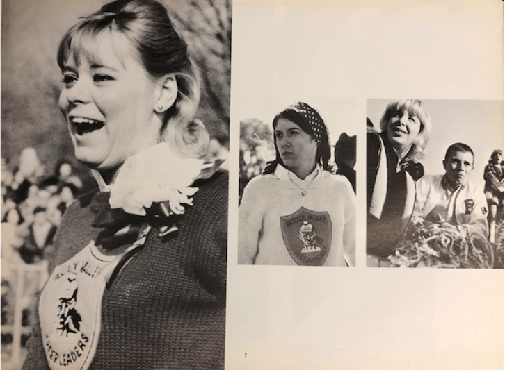 Pascack Valley students in the 1966 yearbook,