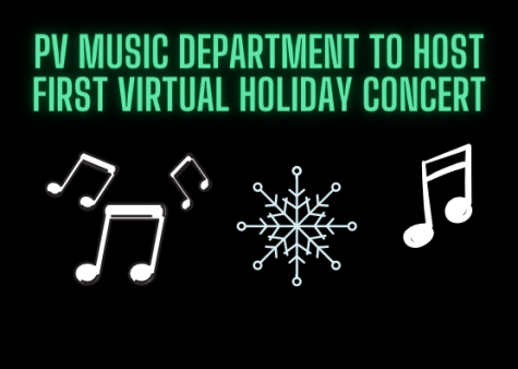 Due to COVID-19 restrictions, the PV Music Department