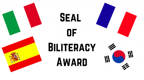 Seniors presented with Seal of Biliteracy award
