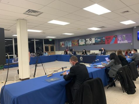 The Board of Education held an in-person on Monday night at PV and virtually on Zoom. During the meeting, the final three mascot options were presented to the BOE.