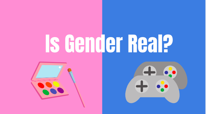 "When people buy gifts, they often buy things that are ""made"" specifically for boys or girls. What many people do not realize is that what is known as boy and girl colors, games, or names is simply a construct that was created by society."
