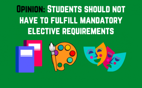 Opinion: Students should not have to fulfill mandatory elective requirements