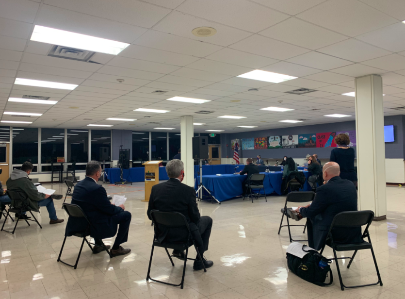 The Board of Education held an in-person meeting on Monday night at Pascack Valley and virtually over Zoom. During the meeting, the BOE approved the Panthers as PV's new mascot, as well as the Broncos as Pascack Hills' new mascot.