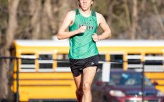 Senior Chris Alepa runs long distance for the track and field team. Alepa is one of many seniors who will provide leadership for the team in 2021.