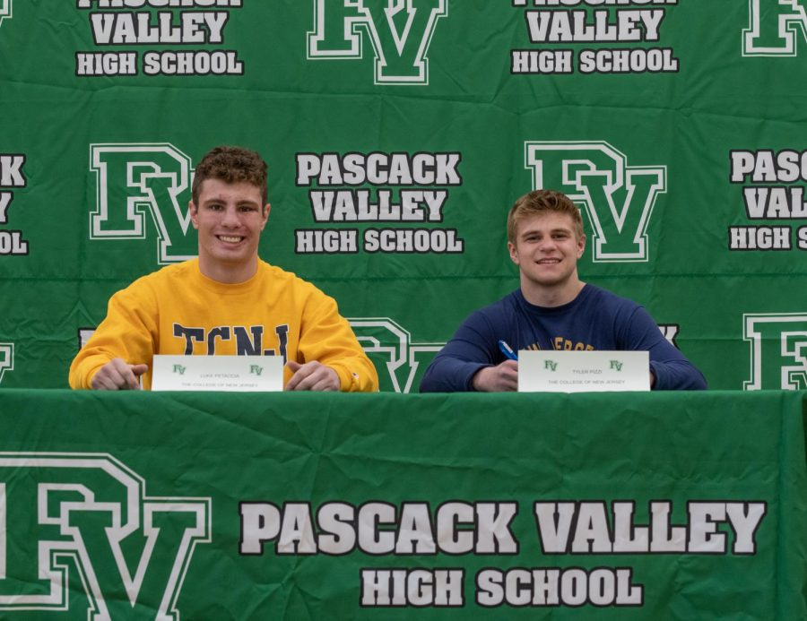 Petaccia and teammate Tyler Pizzi will both be wrestling at The College of New Jersey next year.