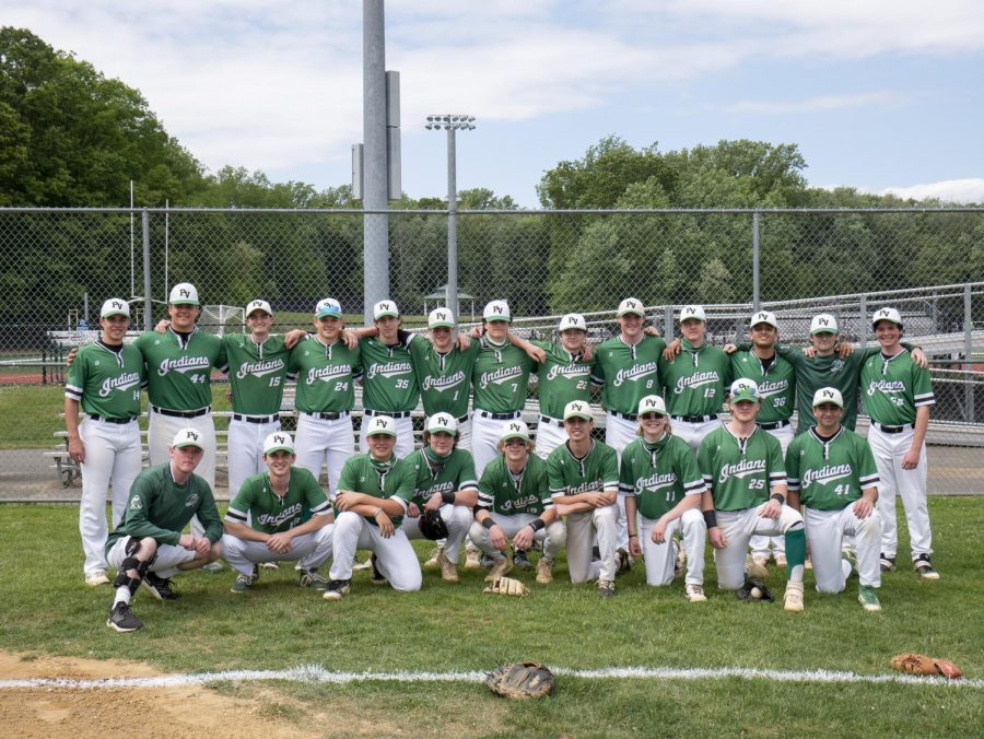 The baseball team is The PV Student Publications 2020-21 Team of the Year.
