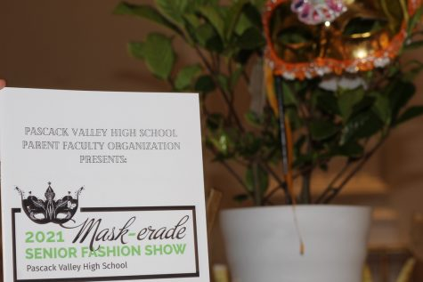 Seniors walk runway at annual fashion show