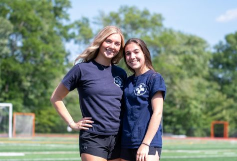 Seniors Annie Madden and Megan Sgroi are EMTs with the Hillsdale Volunteer Ambulance Corps. Madden started riding during her sophomore year, and Sgroi started riding this past August.