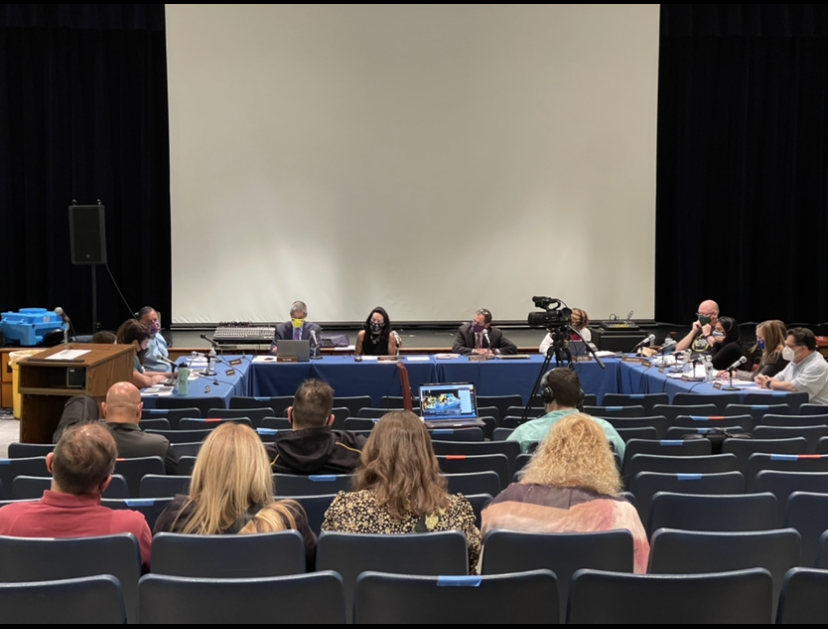 The+Board+of+Education+held+an+in-person+meeting+Monday+night+at+Pascack+Hills.++They+discussed+overnight+trips+and+concerns+for+the+2021-2022+school+year.