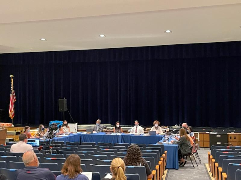 The Pascack Valley District Board of Education meeting was held Monday night at Pascack Hills High School. During the meeting, community members raised concerns about student surveys leading to the approval of the Board of Education