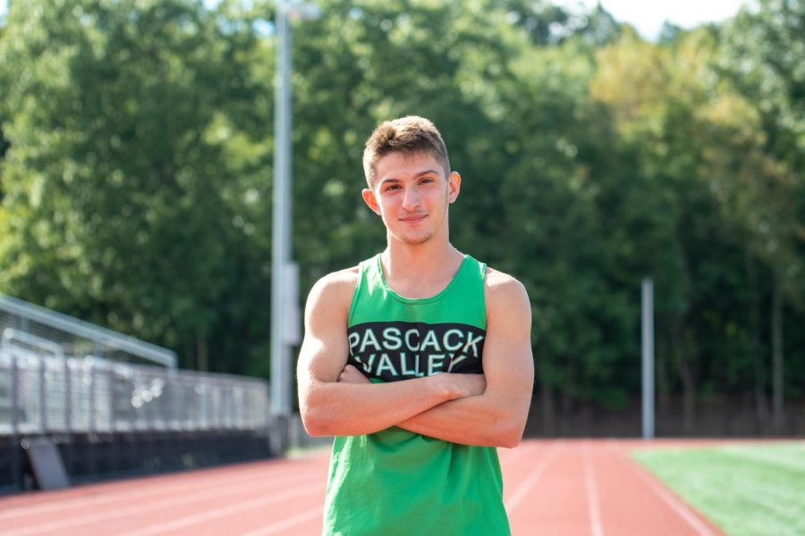 Michael Pizzella poses for a picture at the PV track.