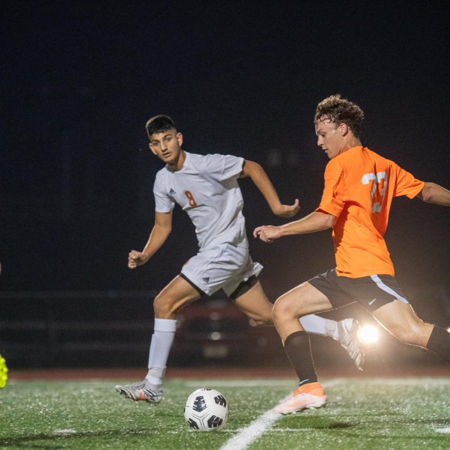 Junior Adrian Pilet has spent two seasons playing soccer with the Barca Residency Academy soccer team.  Now, he plays for the PV boys soccer team.